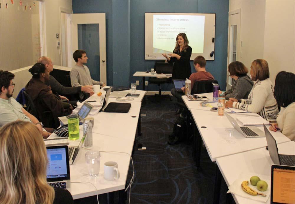 In-person Chicago TEFL Course Sneak Peek