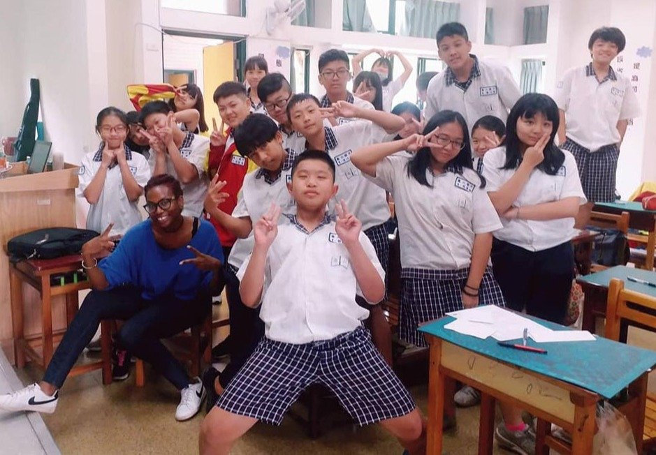 ITA graduate Jahannah Sistrunk teaches English in Taiwan