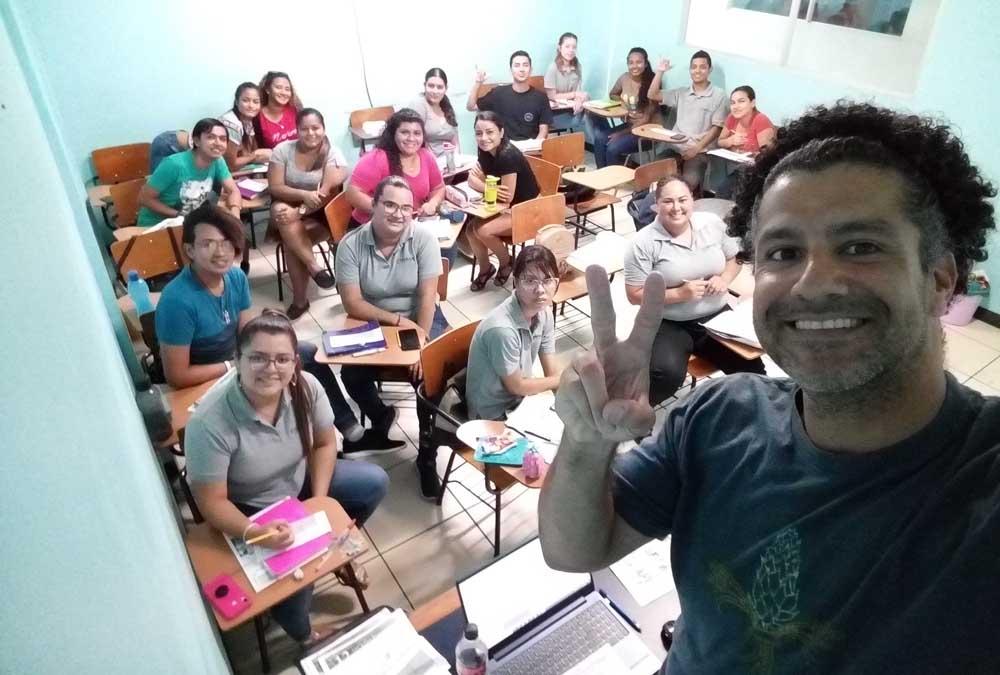 ITA grad Orlando Tillero teaches English in Costa Rica
