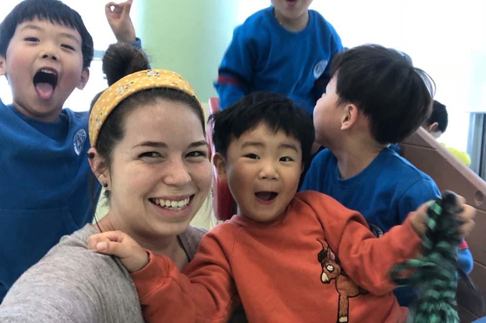 ITA alumna Samantha Broking teaches English in South Korea
