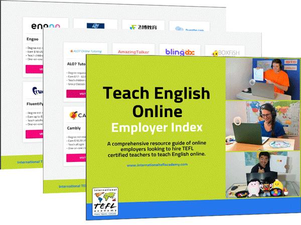 Teach English Online Employer Index