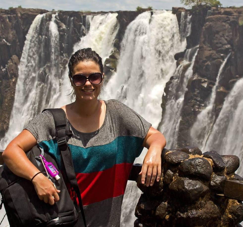 Lynda Victoria Falls Zambia