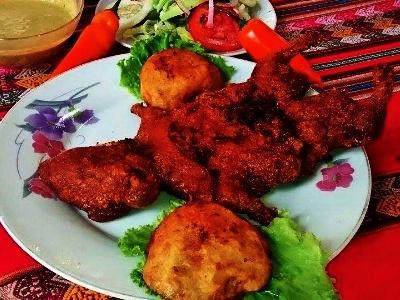 Alumni Eats - Guinea Pig in Peru