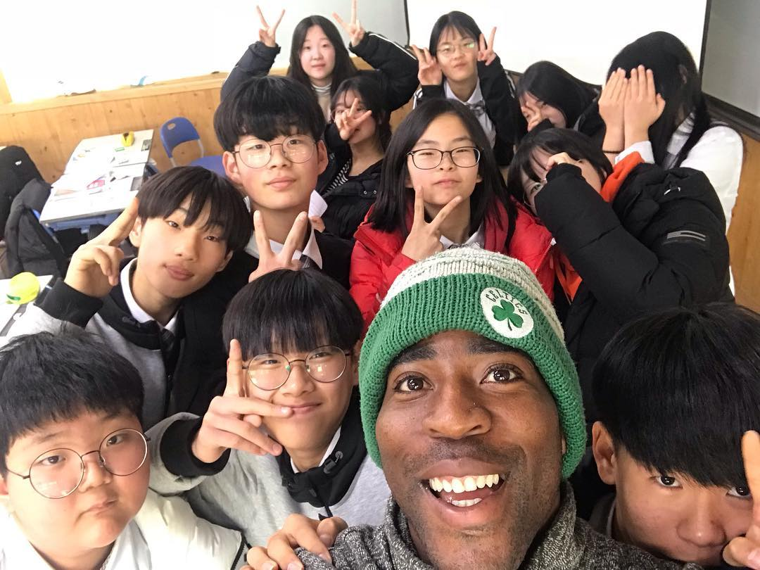 Tim Unaegbu - Geochang, South Korea - Students - Classroom - 2018