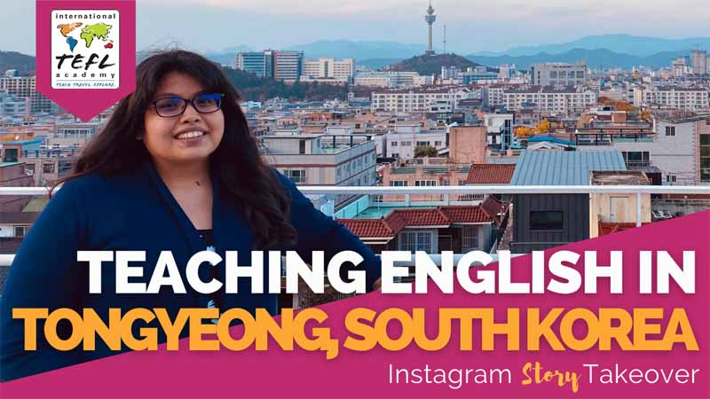 Day in the Life Teaching English in Tongyeong, South Korea with Rosa Salgado
