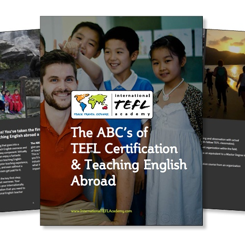 teach english abroad ebook