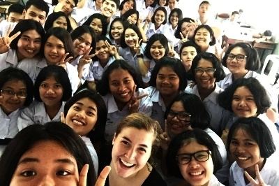 Allie - Wieland - ITA graduate teaching English in Thailand