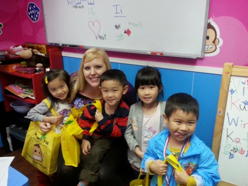 Teaching English in Hong Kong - Erin Rydberg