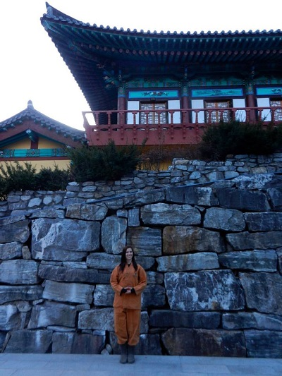 Jessica Montgomery Teaching English in South Korea