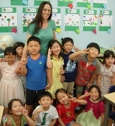 Cynthia Miller Teaching English in Malaysia