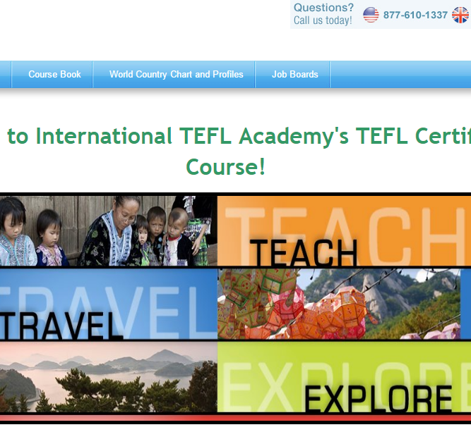 Access the Online TEFL Course