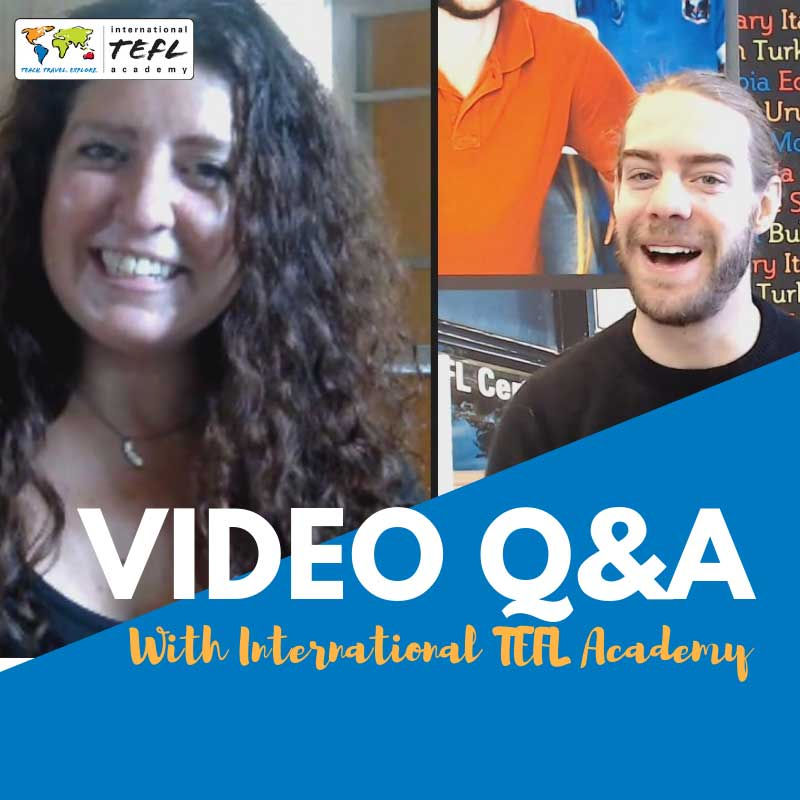 Do a Video Q&A with ITA